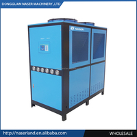 32kw 10 ton process air cooled water chiller for cooling water