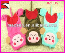 pet circle shy monkey cotton winter pet clothes hot selling products 2012 with 3 colors