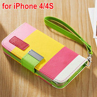 Hot Colorful Cell Phone Shoulder Bag for Iphone5 5S
