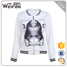New Fashion Women Clothes O-Neck Collar Zip Up Design Wholesale Bulk Hoodies