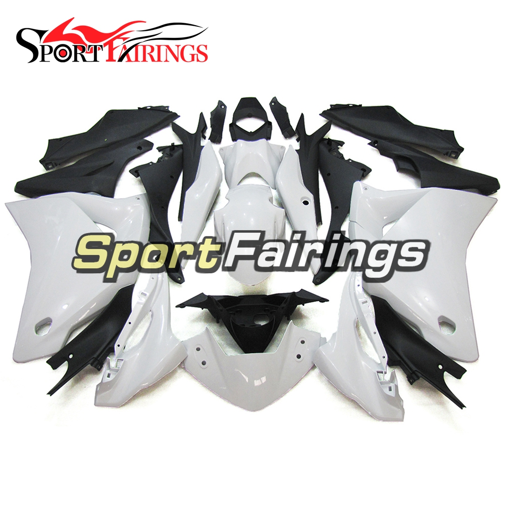 White Black Complete Motorcycle Injection ABS Plastic Fairings For Honda CBR250RR MC19 88-89 1988 1989 Fairing Kits