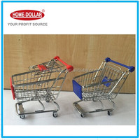 MINI SHOPPING CART/Chrome Mini Shopping Trolley for supermarket metal kid toy