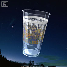 K-B568-T PLA 1 pint 568ml disposable plastic beer cup