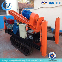Hydraulic Rock Drill Rig on crawler base made in China