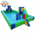 interactive inflatable basketball court soccer arena for kids and adult