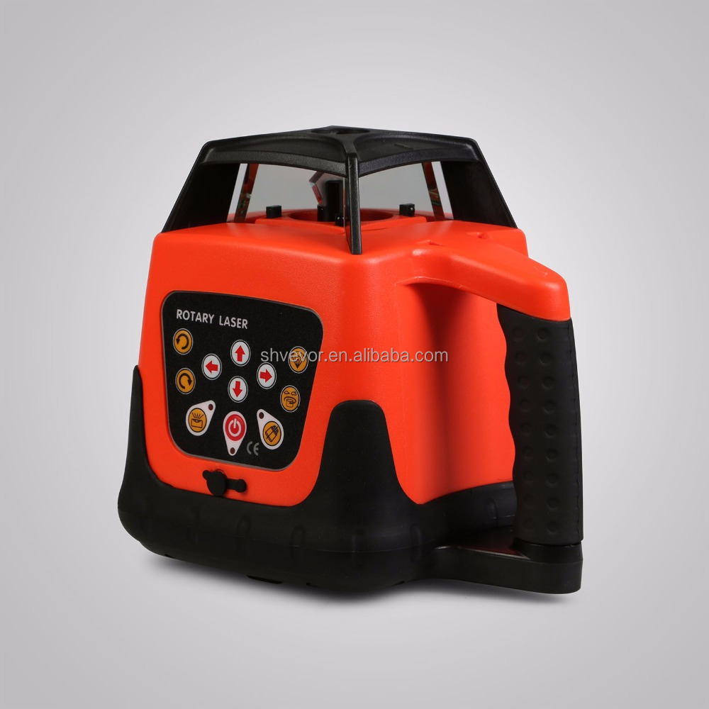 Self-leveling Construction Rotary/ROTATING Red Beam Laser Level 500M++ Tripod + 5m Staff
