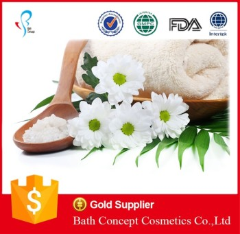 OEM natural slimming moisturizing bath salt