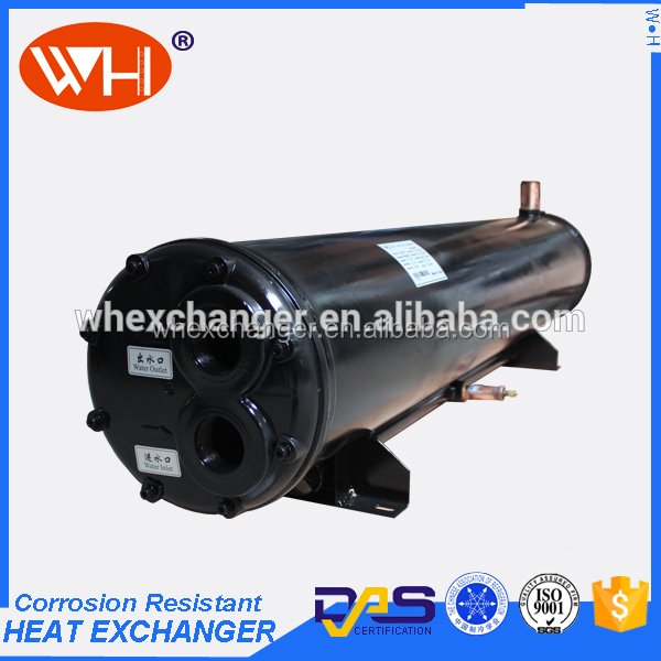 Longer service life chiller wenzhou cooling/heating condenser,copper hydraulic oil cooler