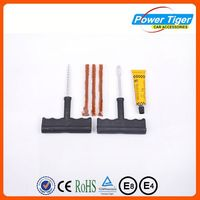Car Bike motorcycle Auto Tire Tyre Tubeless tyre puncture repair kit