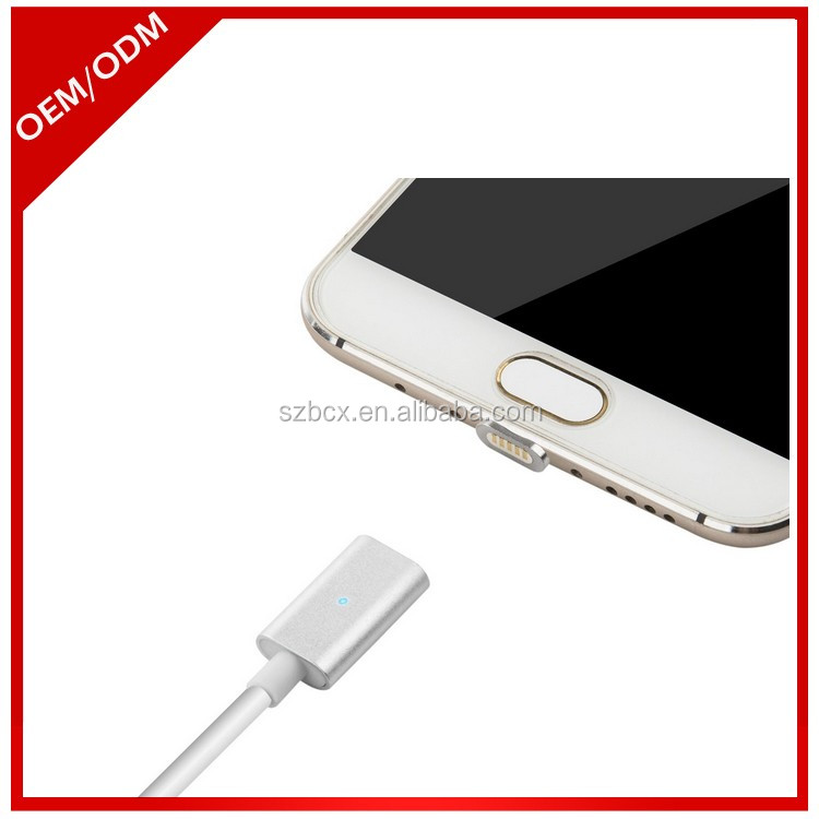 Magnetic Android Micro USB Charging Cable for SmartPhones