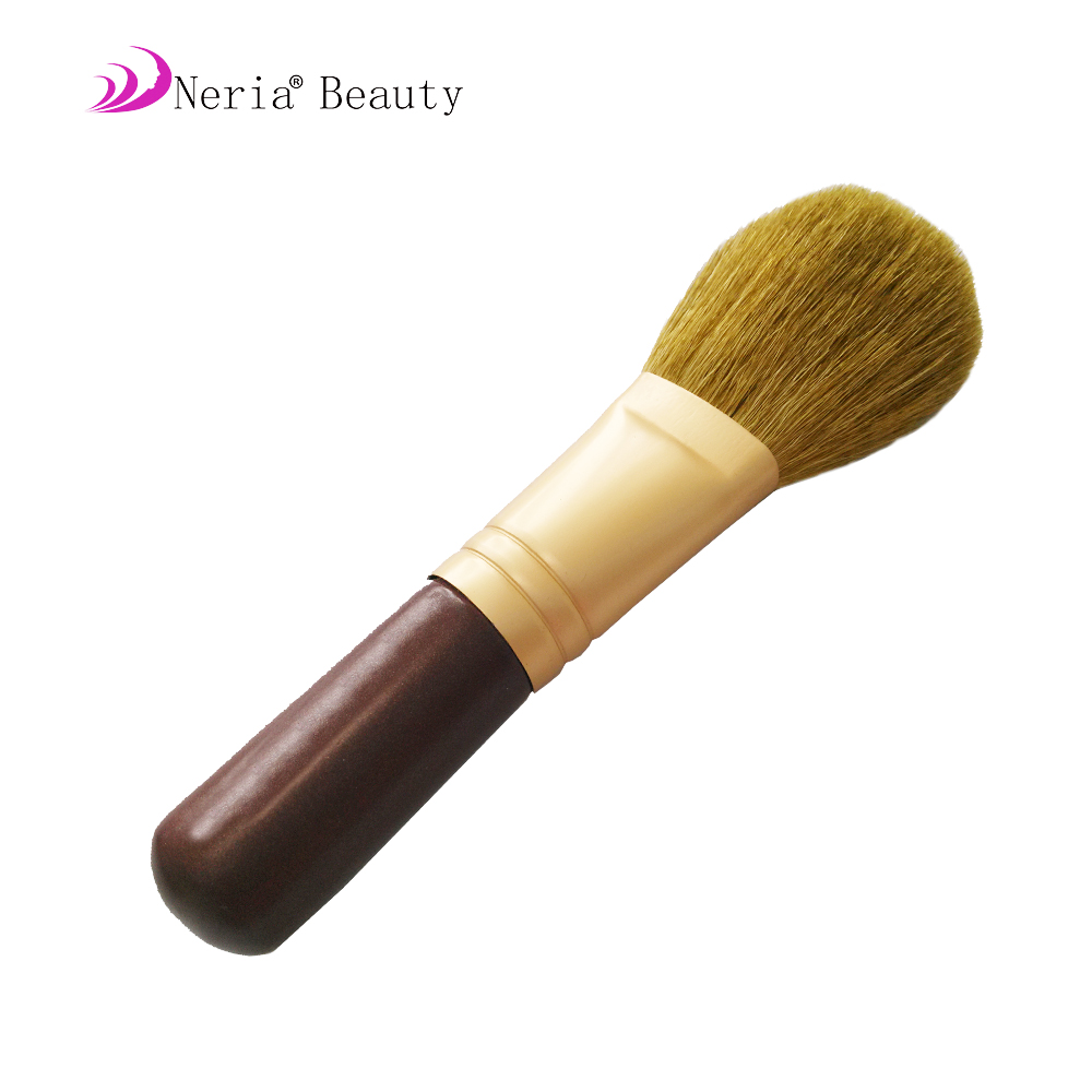 Foundation Contour Powder Brush Pink Golden Lady Cosmetic Brush