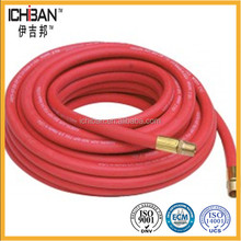 China cheap single line welding rubber air hose