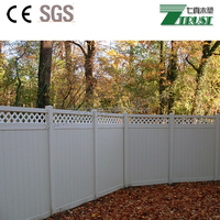PVC Material Easily Assembled Vinyl Fence Manufacturer in China