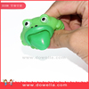 squeeze frog toy with tongue