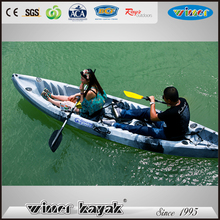 Leisure and recreation 2 seat sit on top fishing kayak double kayak for sale