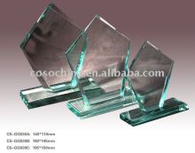 Jade Glass Award With Design Idea