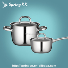 Mirror shining #430 induction top grade cooking pot set