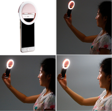 Newest type Selfie Ring LED Light Case Phone Light Beauty Flash Fill light for iPhone
