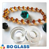 Crystal glass bead hanging decoration in high quality from BO-Glass