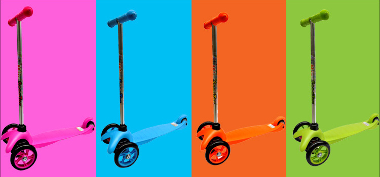 21st kick scooter with 3 wheel for children, oen brand kids riding toys