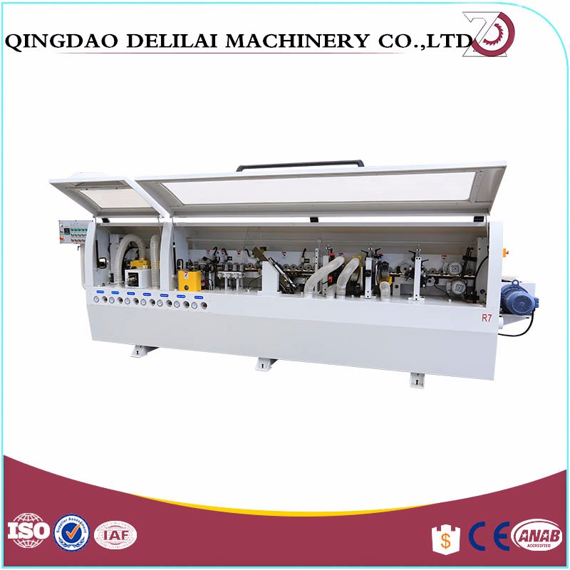 Fully automatic edge banding machine for woodworking