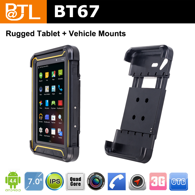 LT1615 BATL BT67 ip67 mid android 4.2.2 tablet pc manual NFC, for Warehouse