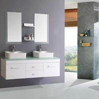 Jisheng 2013-2015 Popular bathroom mirror cabinet with light Quartz artifical/nature stone countertop