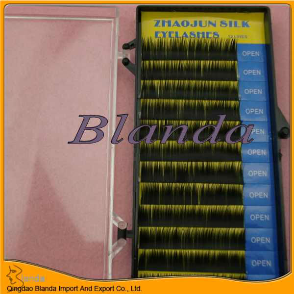 Individual Mink eyelashes/mink lashes synthetical/mink false eyelashes