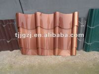 copper plated roof tile