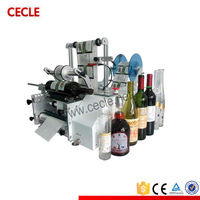 Semi automatic coffee cup labelling machine
