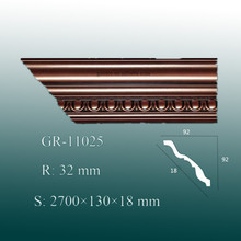 Manufacturer New Design PU Crown Moulding for Ceiling and Wall