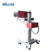 High Clarity Text Printing Light Spot Fine Cable Laser Marking Machine