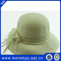 Wholesale Cheap Straw Knitting Patterns Hats Fedora Band