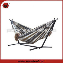 Portable Folding Hammock With Steel Stand Pillow And Carrying bag
