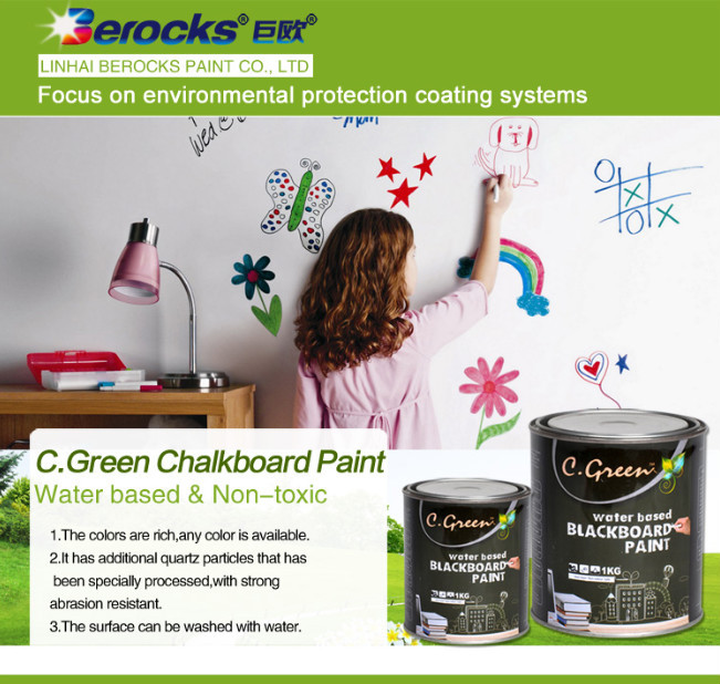 environmental-friendly and water-based magnetic chalkboard paint