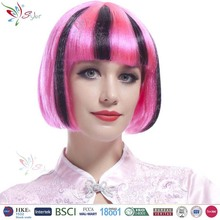 Styler Brand 2016 hot sale women lovely sexy pretty girl wig usa girl wig all kind of wig