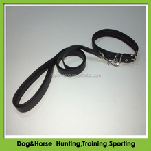 high quality fluorescent PVC Coated Webbing Dog Collar and Leash