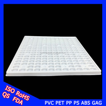 China wholesale white thermoforming blister packaging for electronic