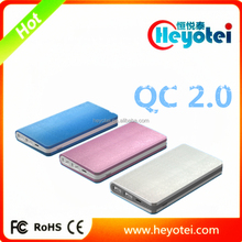 Quick Charge 2.0 Power Bank Fast Charging Smart Phones Tablet PC