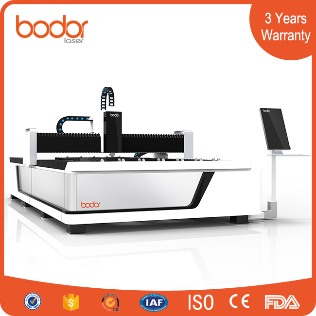 1500W big power metal sheet cnc laser cutter , fiber laser cutting machine for aluminum , steel , metal plate