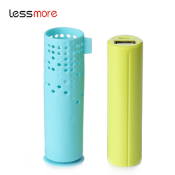 mobile restaurants novelty products for sell rubber power bank pcb charging banks of batteries cute power bank 2600mah gift