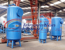 Industrial production waste sand filter