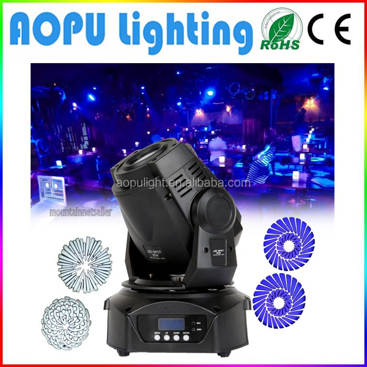 Professional stage light 60W spot moving head led light