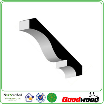 Primed Light MDF Crown Moulding