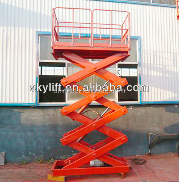 warehouse mini motorized lift and elevator