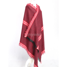 Custom high quality100% acrylic multipurpose shawl scarf