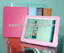 2014 Universal Folding Folio Original 9.7 inch tablet pc leather case for Cube U9GT5 / PIPO ETC