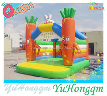 2014 Carrot Design Bouncy Castle Inflatable Toy For Kids Game In Inflatable Fun City