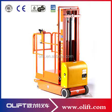 300KG capacity 4.5m easy operation full electric aerial order picker