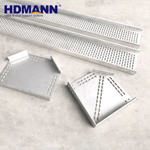 Marine Perforated Hot Dipped Galvanized Cable Tray And Joint